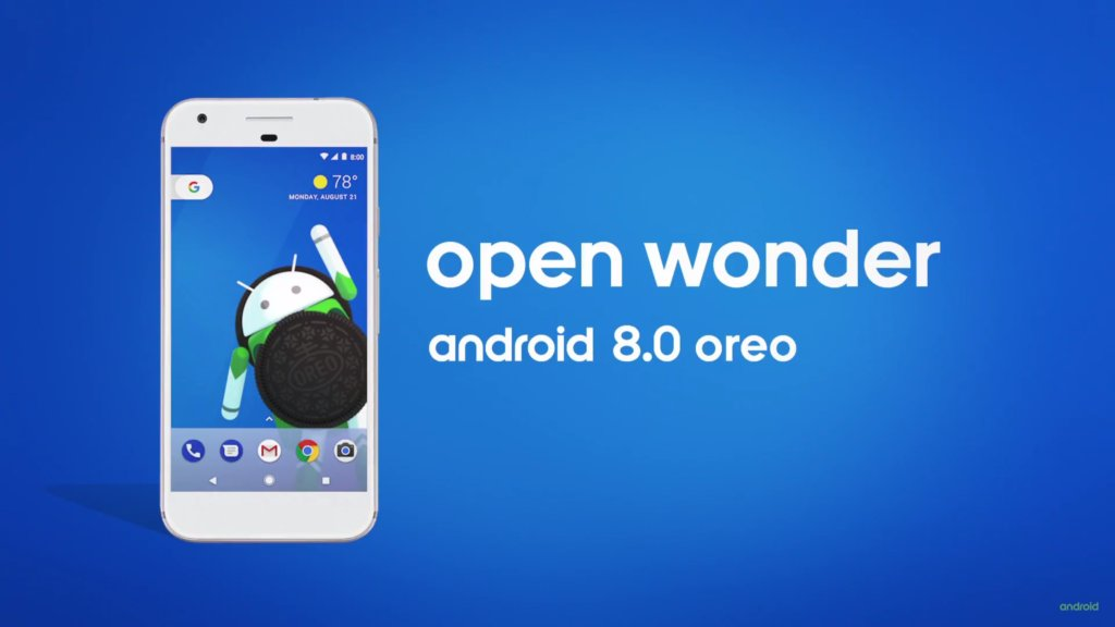 android oreo wonder