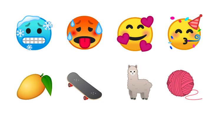 android p emojis