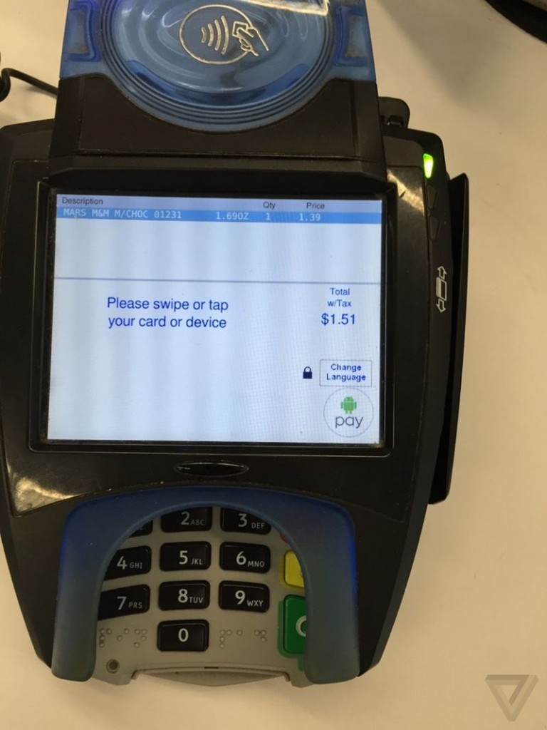 android pay whole foods
