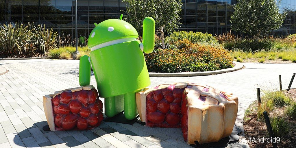 android pie figur