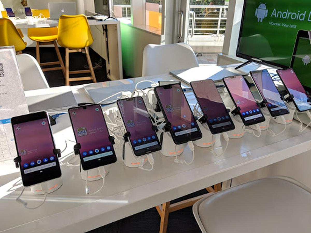 android pie phones