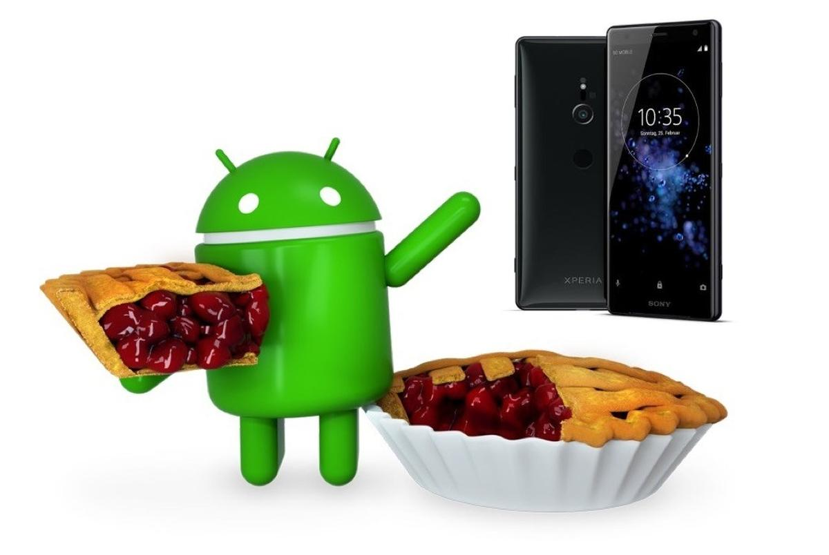 android pie sony xperia