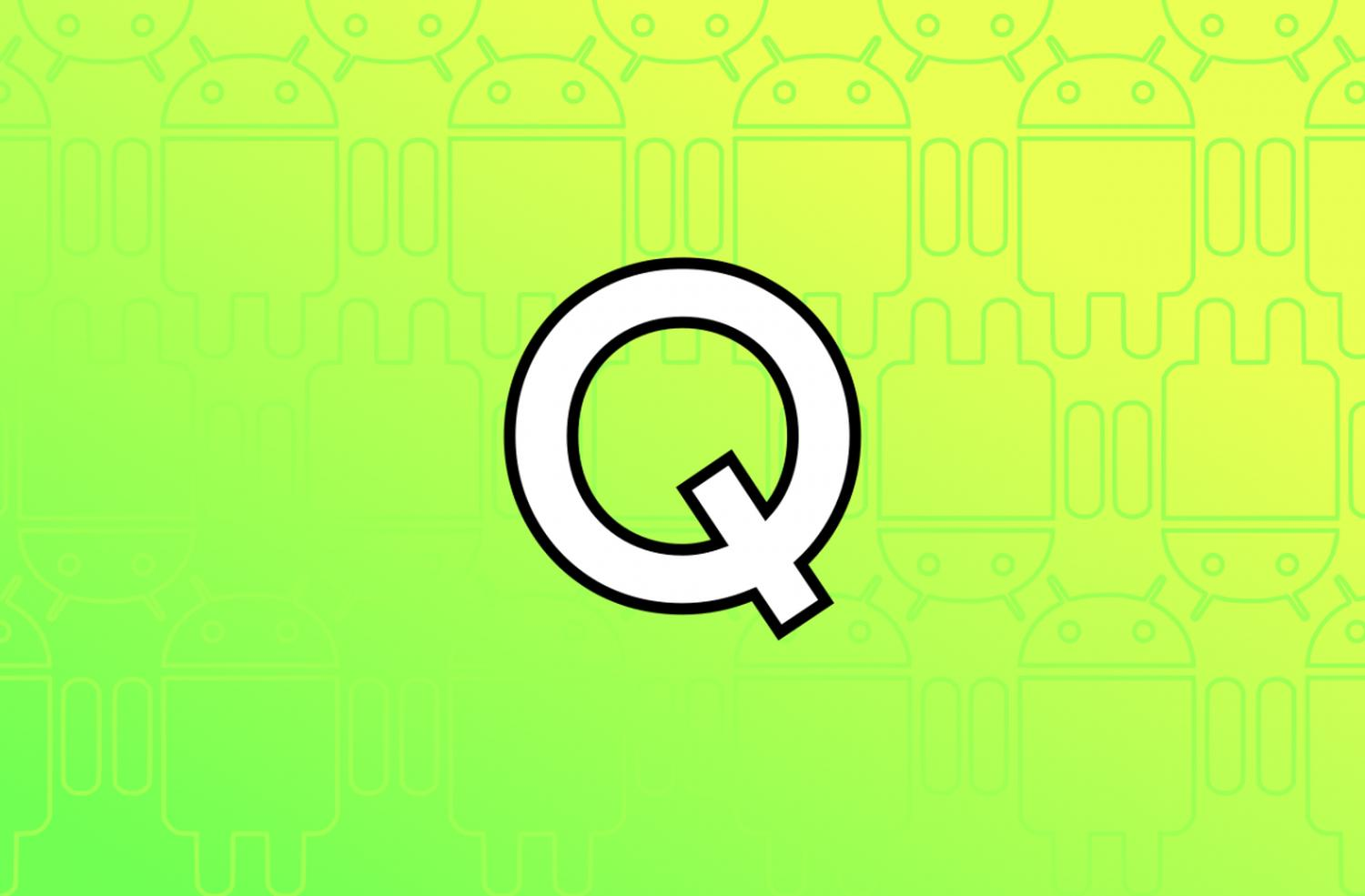 android q logo entwurf
