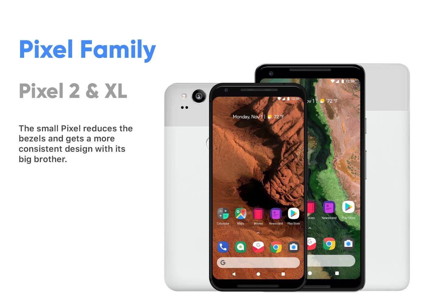 android redesign pixel smartphones