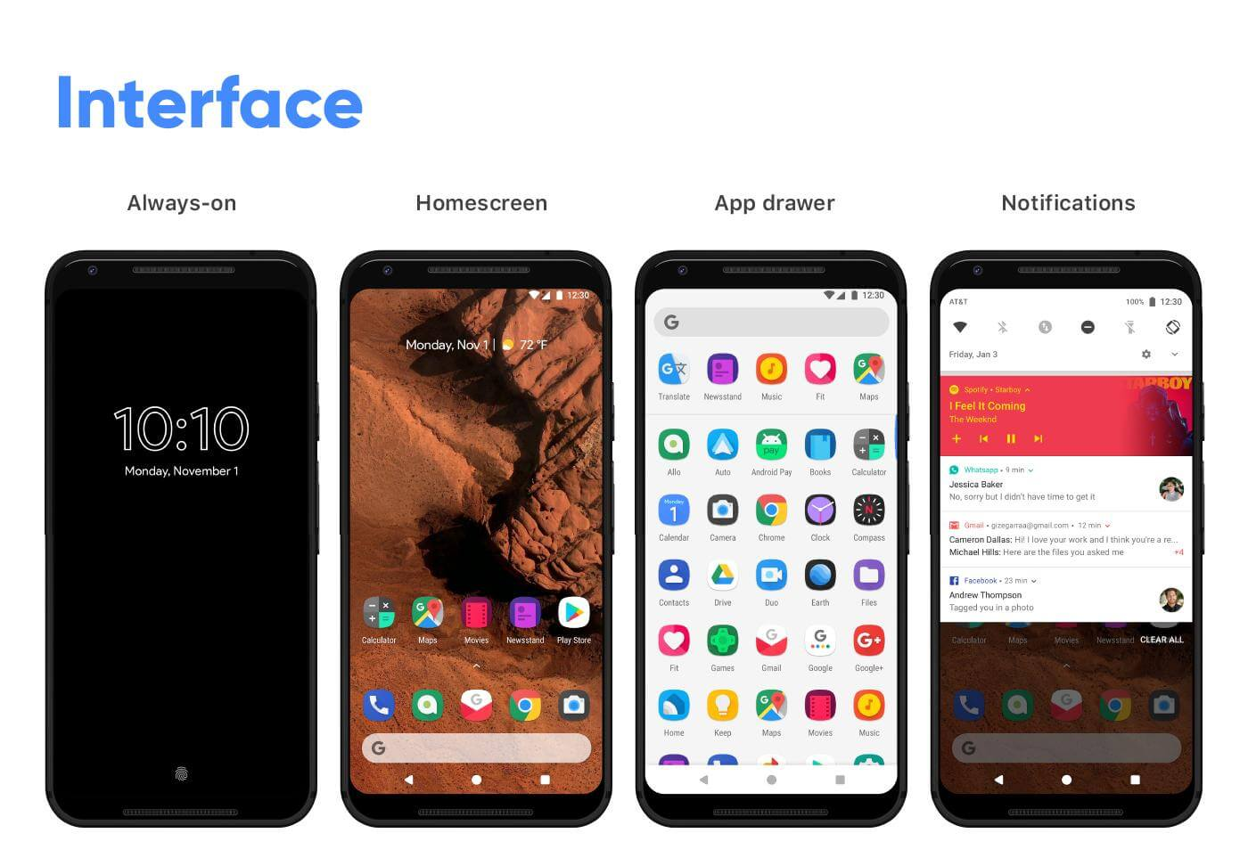 android redesign ui