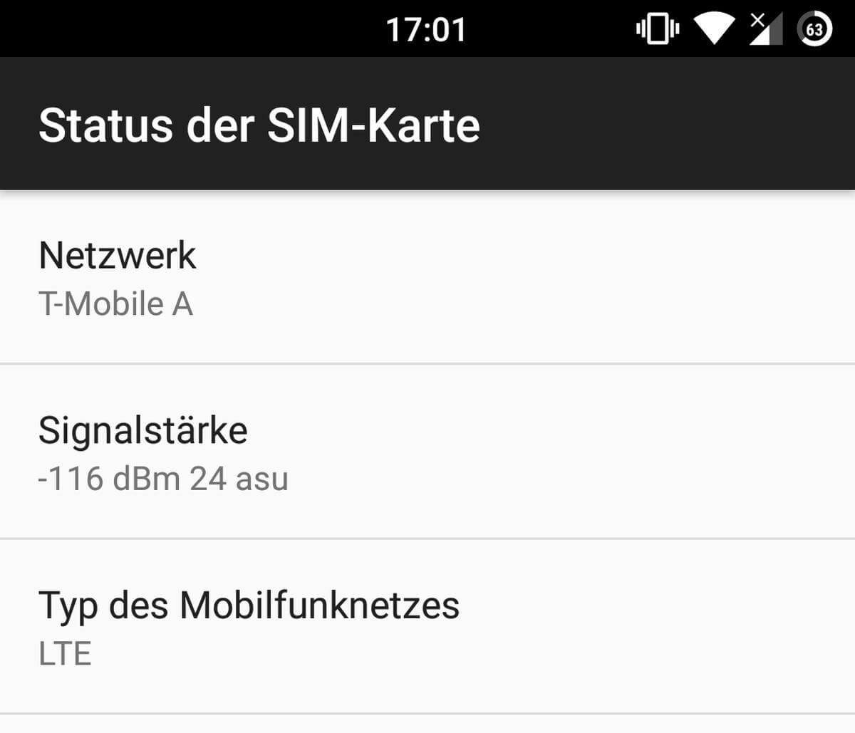 android sim status
