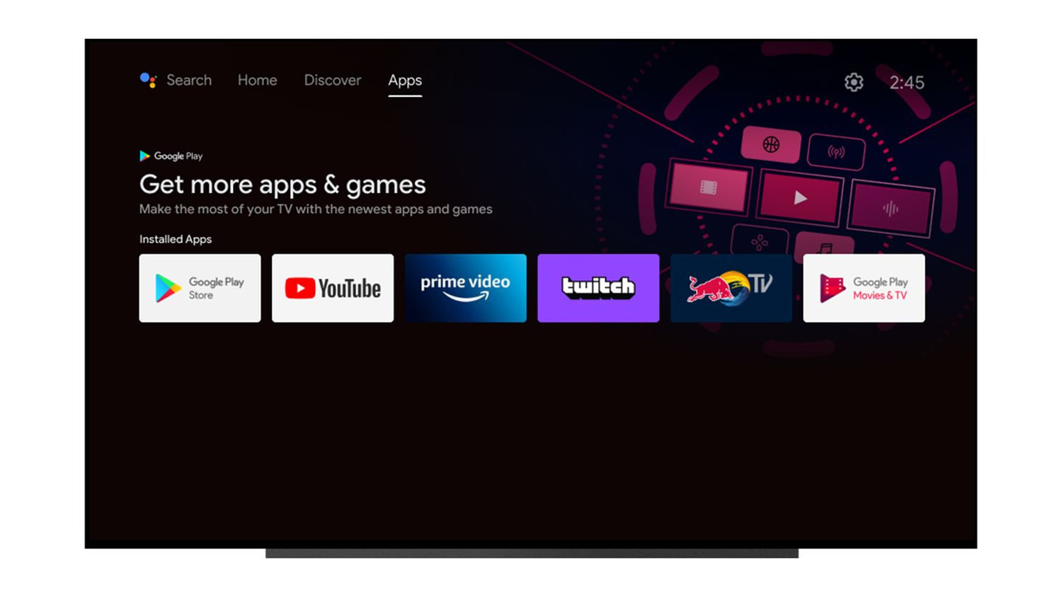 android tv new design 3