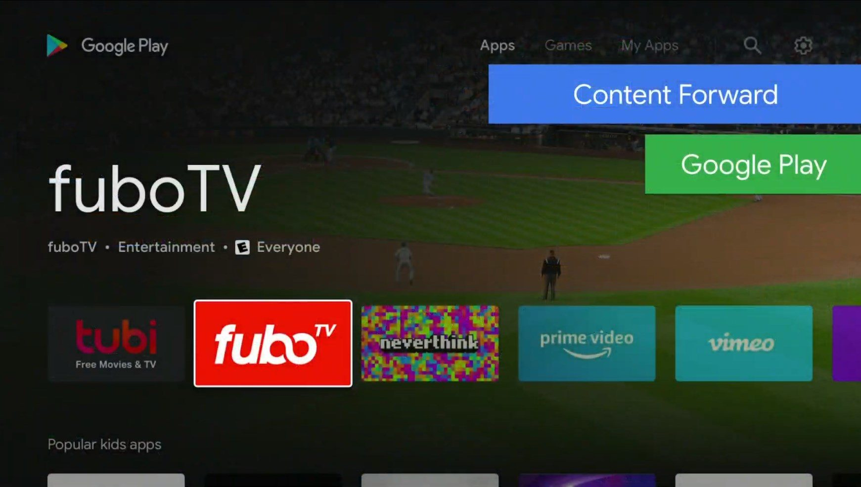 android tv new design