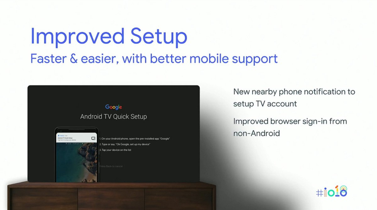 android tv setup