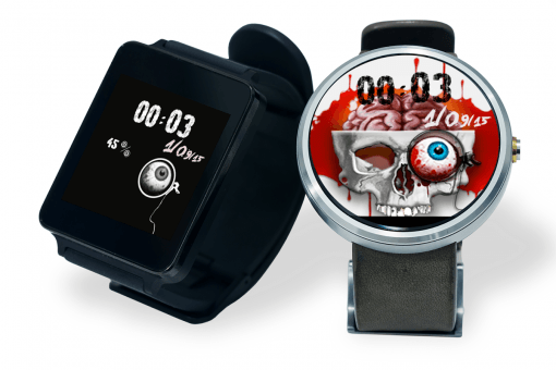 android wear halloween