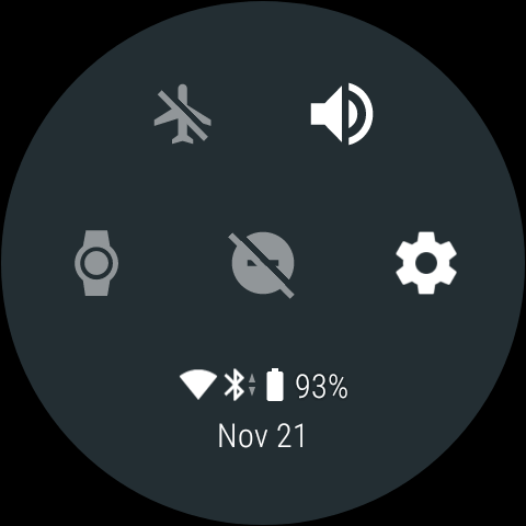 android wear status