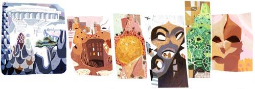 Google Antoni Gaudi