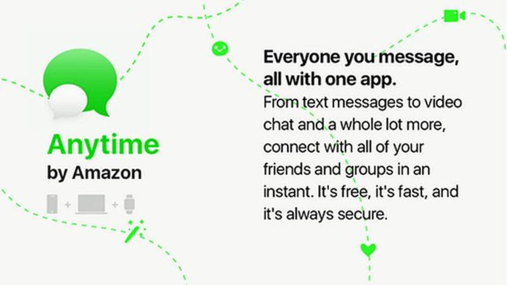 anytime by amazon messenger