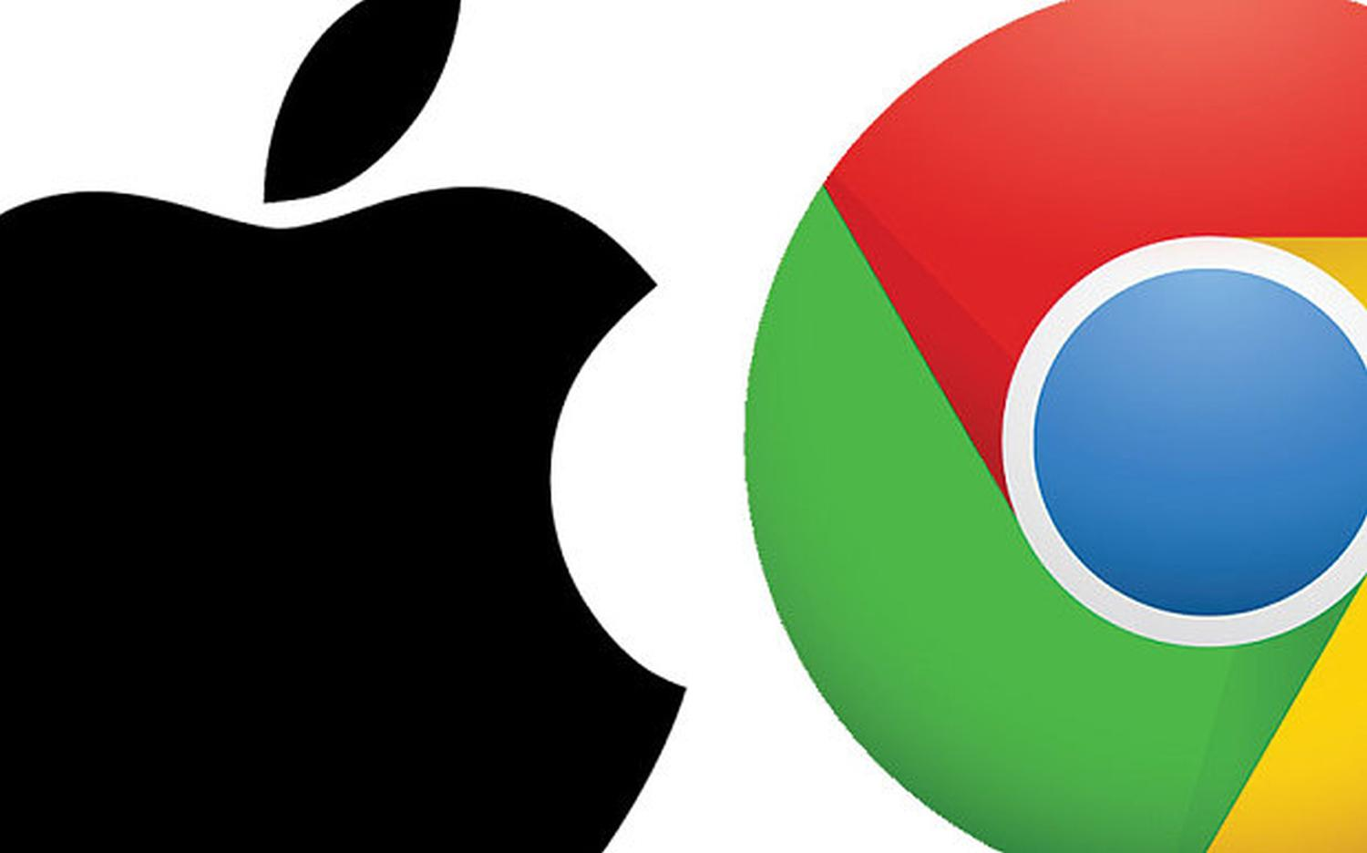apple google chrome
