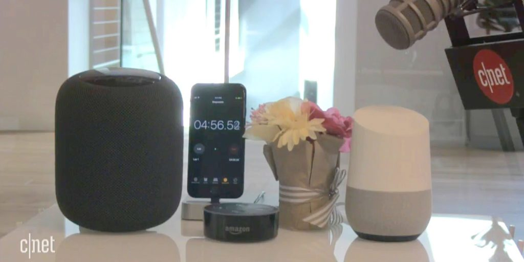 apple homepod amazon echo google home