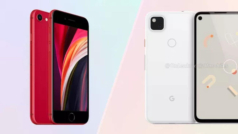 apple iphone se 2020 vs google pixel 4a