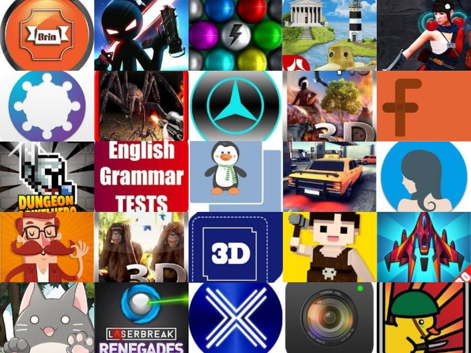 Google Play Store Aktion: Diese 25 Android-Apps, Spiele ...