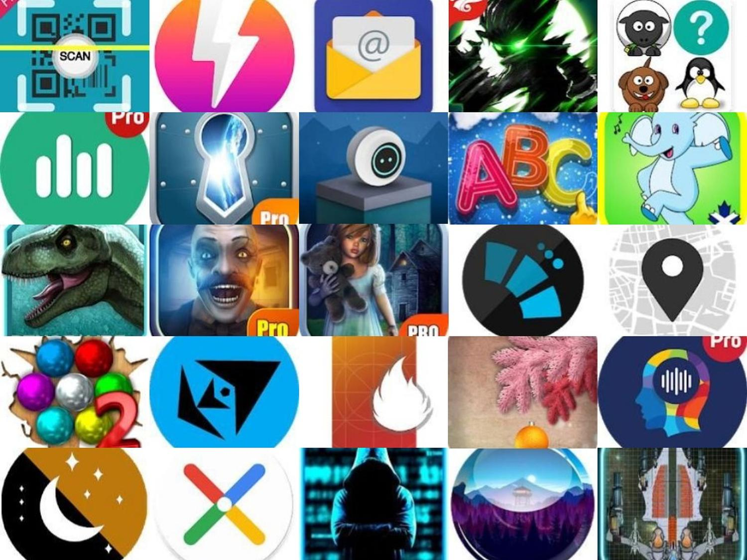 Google Play Store Aktion: Diese 61 Android-Apps, Spiele, Icon Packs & Live Wallpaper gibt es heute Gratis - GWB