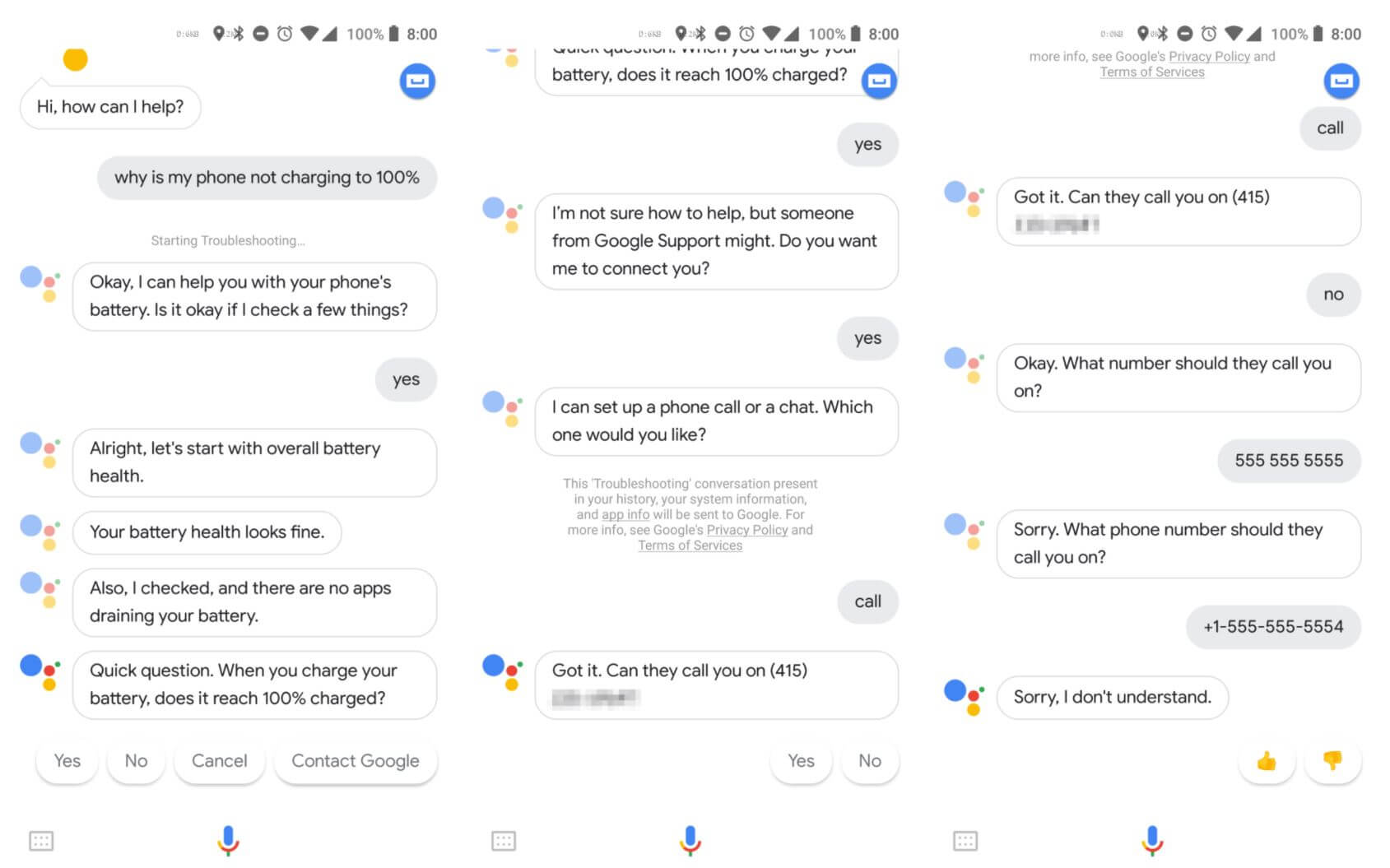 assistant chat