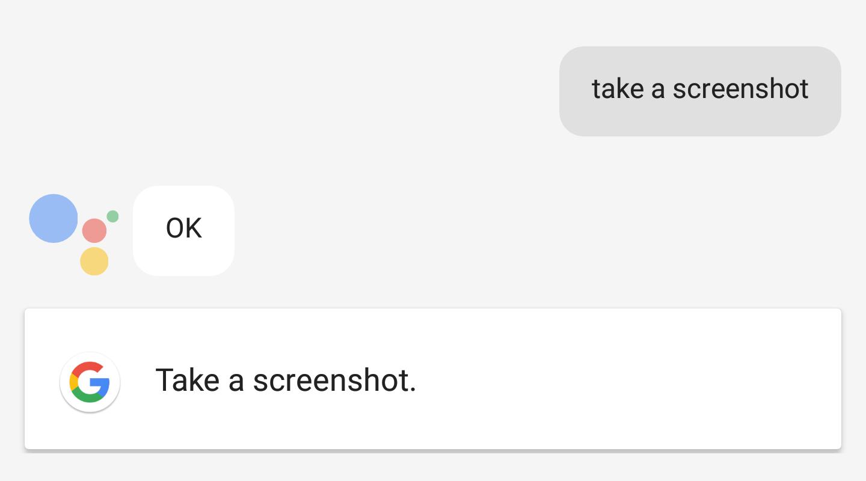 assistant screenshot