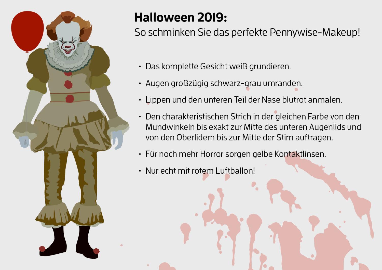 beliebteste-halloween-kostüme-platz-1-pennywise-schminkanleitung