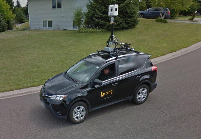 bing car google maps