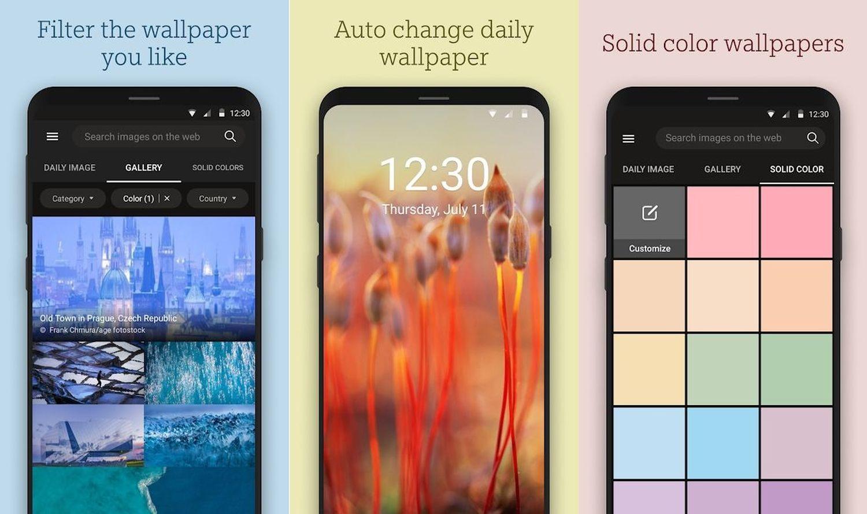 bing wallpaper app screenshots 2