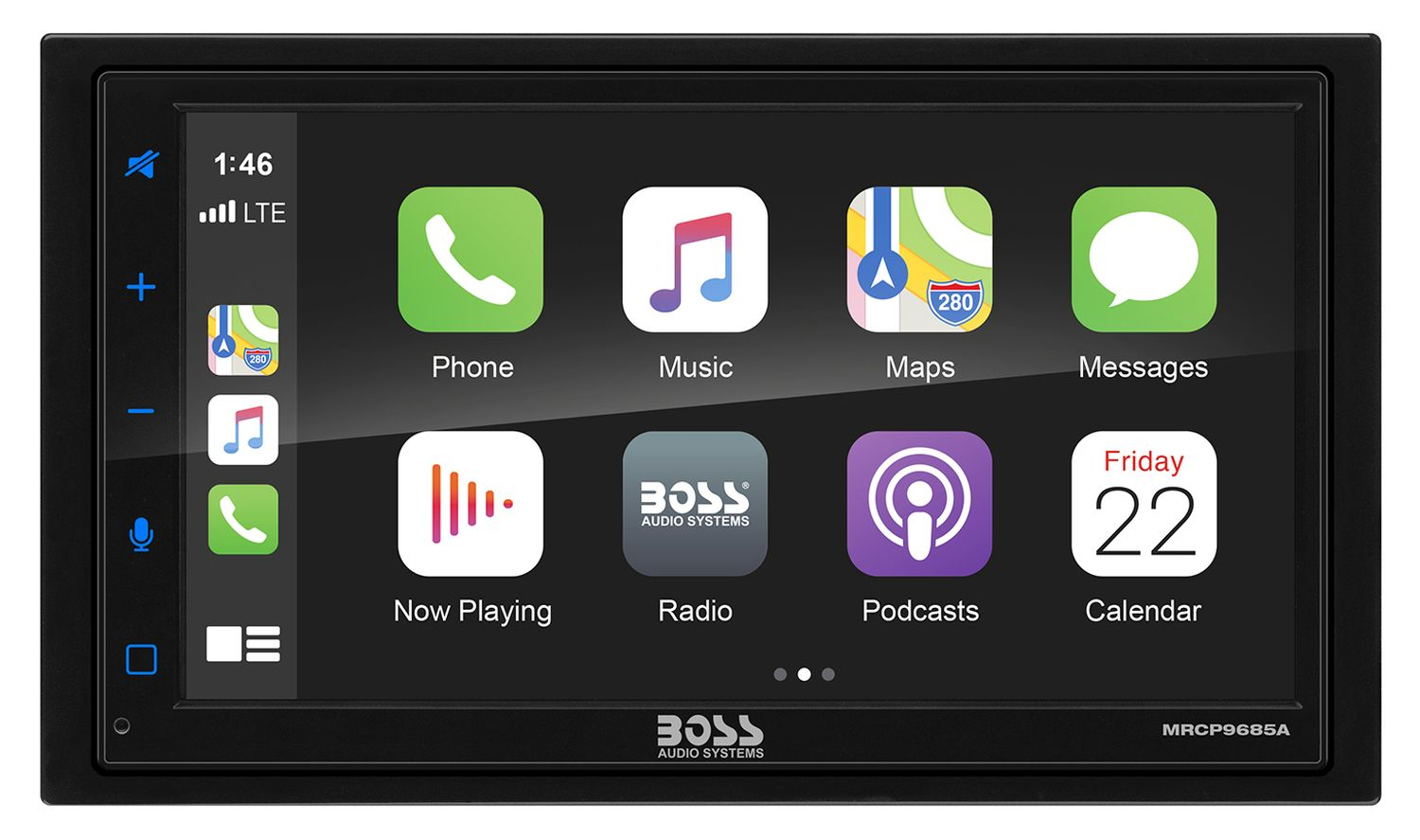 boss audio boot android auto display