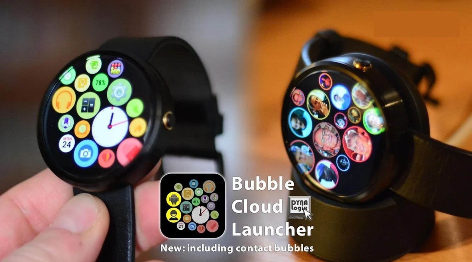 bubble watch face cover