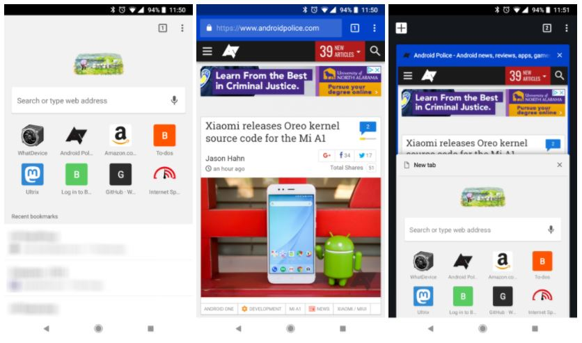 chrome for android 65 old