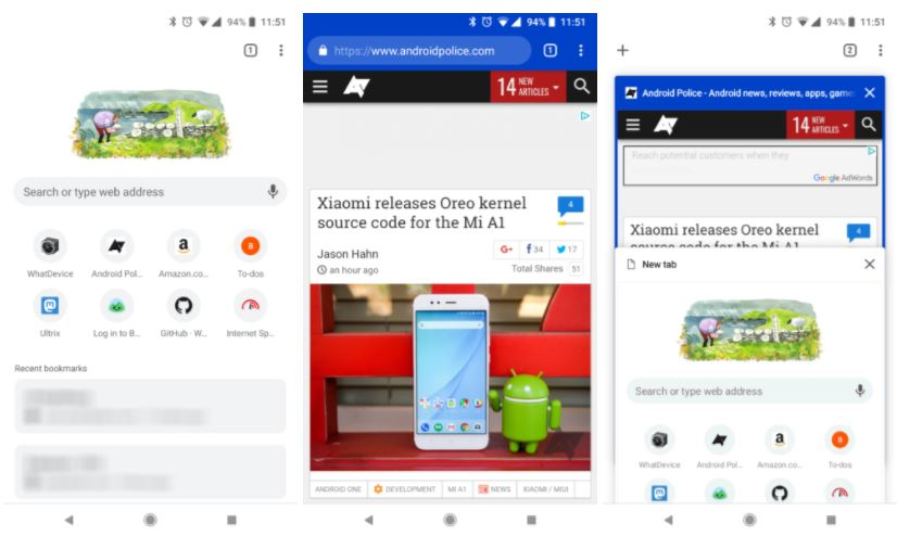 chrome for android 66 new