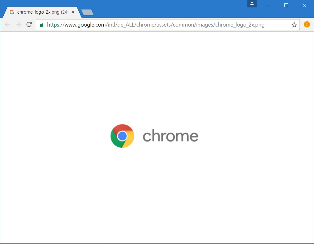 chrome-image-center