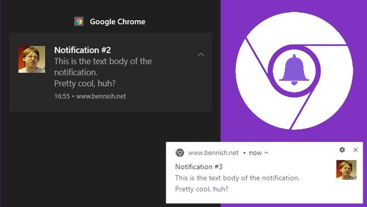 chrome notifications