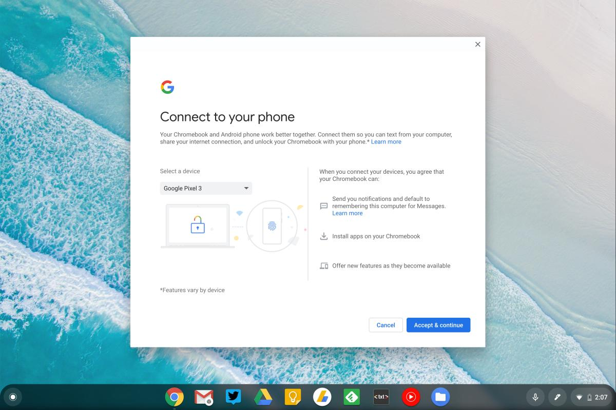 chrome os better together