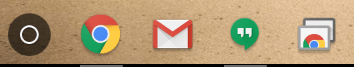 chrome os icon tray