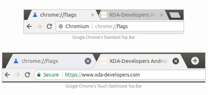 chrome os touch
