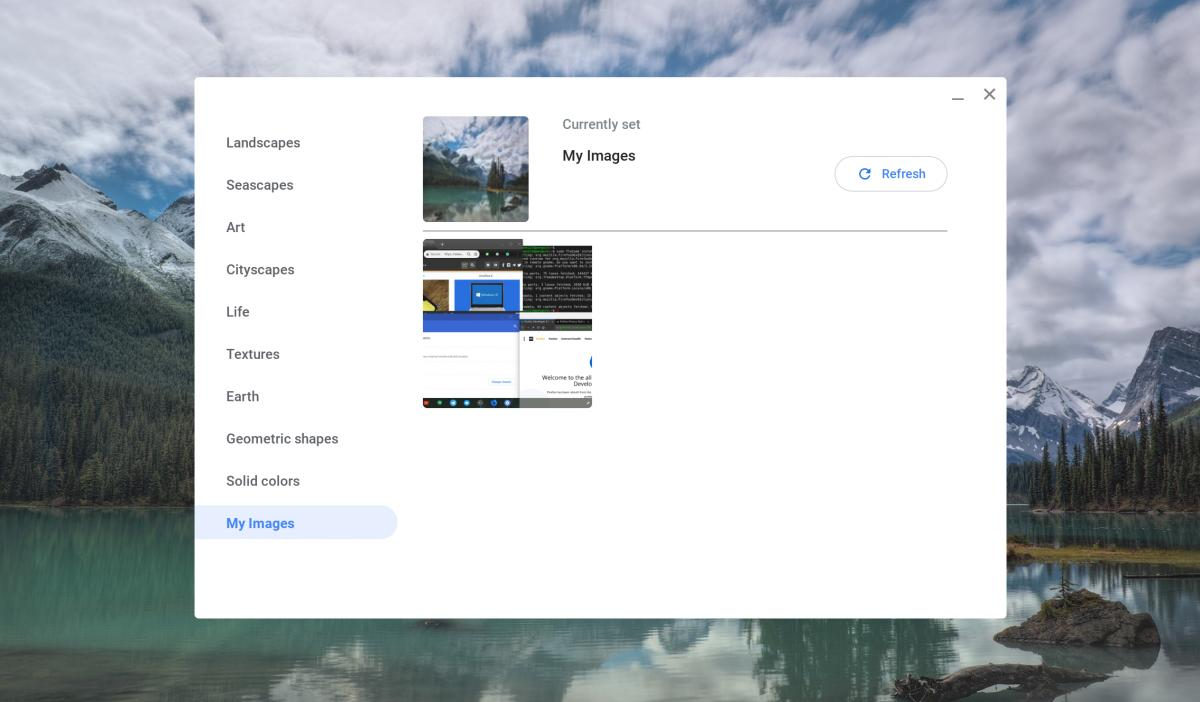 chrome os wallpaper picker