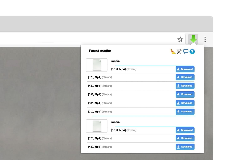 chrome video stream downloader