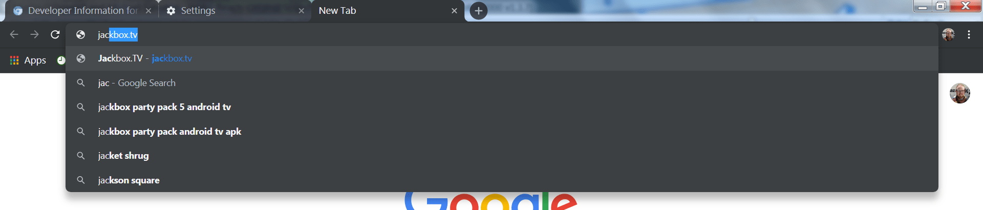 chrome windows dark mode