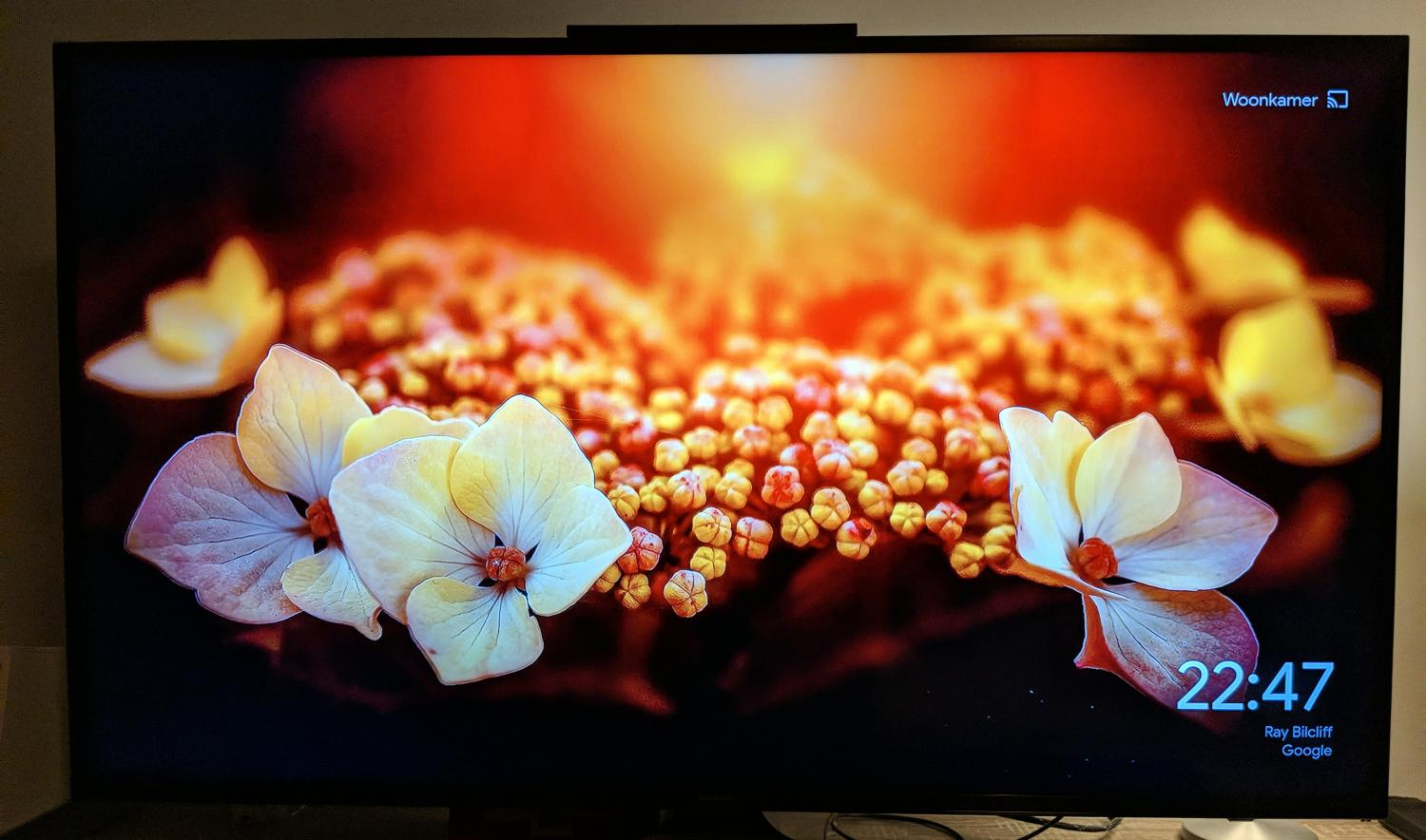 chromecast ambient mode neu