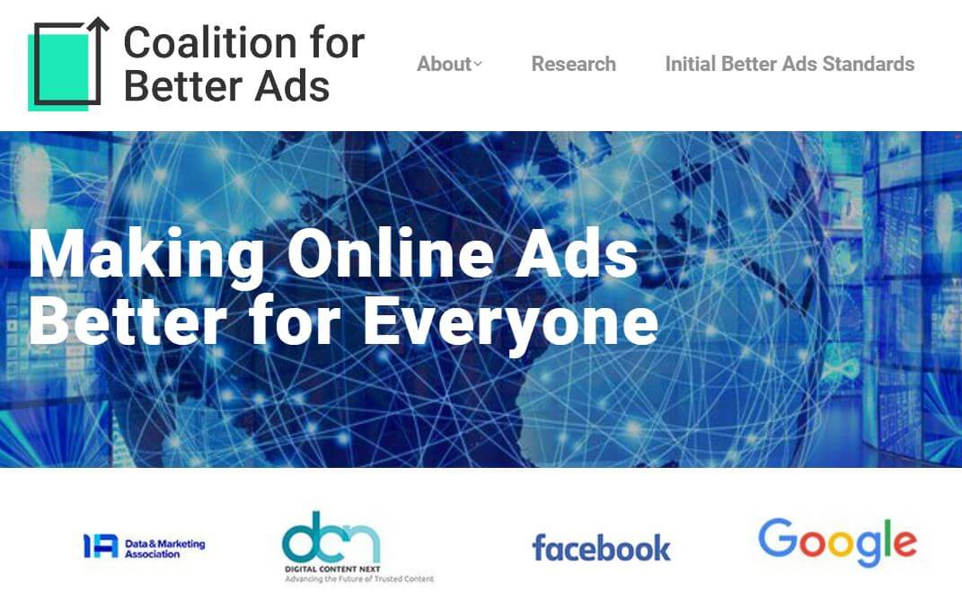 coalation for better ads
