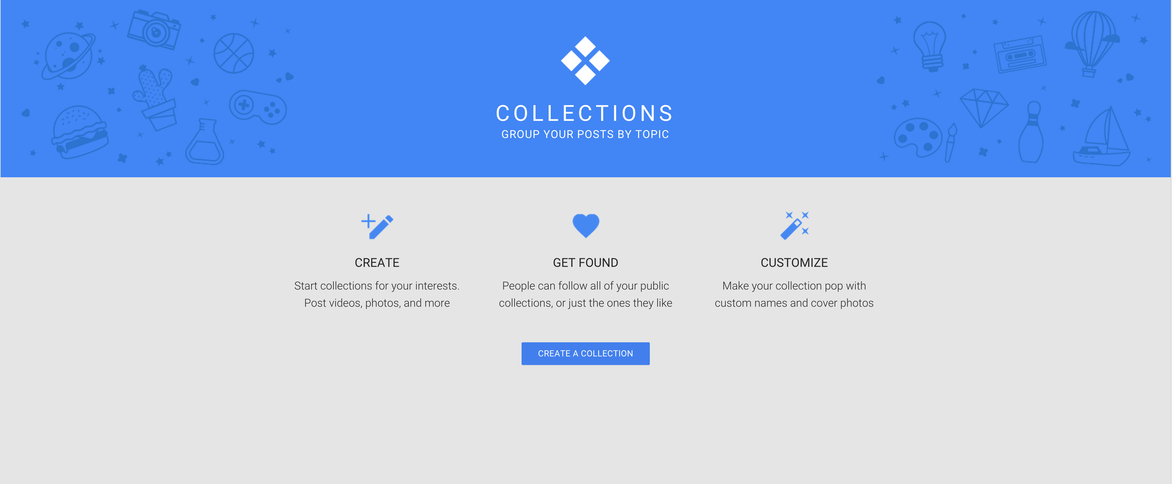 collections start