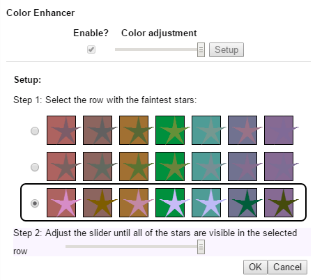 color enhancer