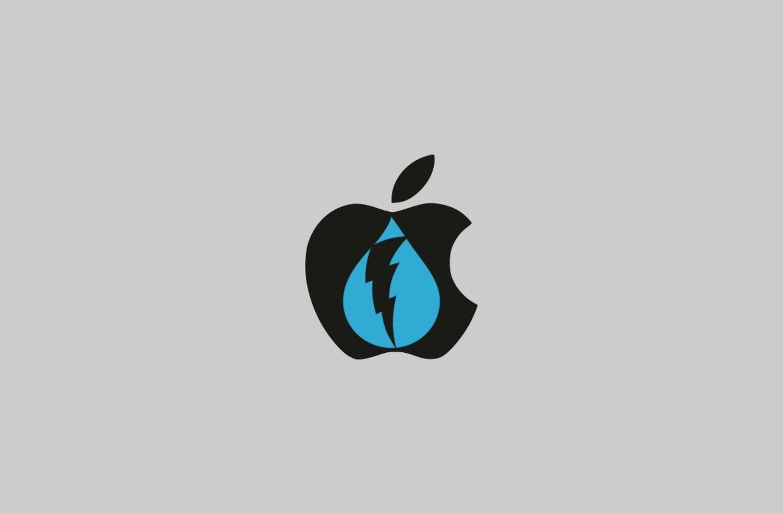 dark sky logo apple
