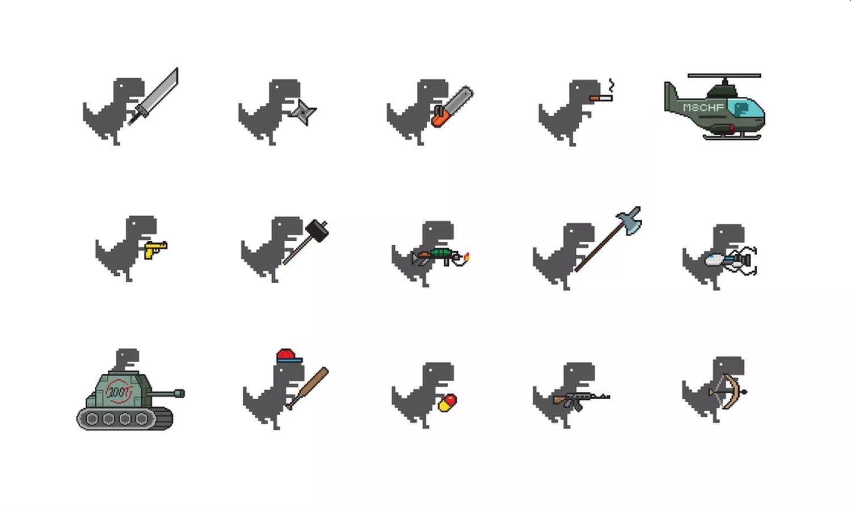 dino swords weapons