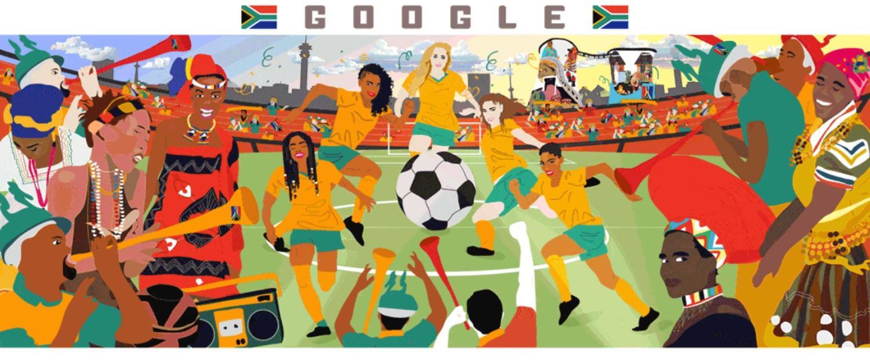 doodle fussball weltmeisterschaft der frauen 2019 südafrika