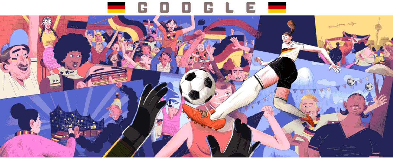 doodle fussball weltmeisterschaft der frauen 2019 tag 2