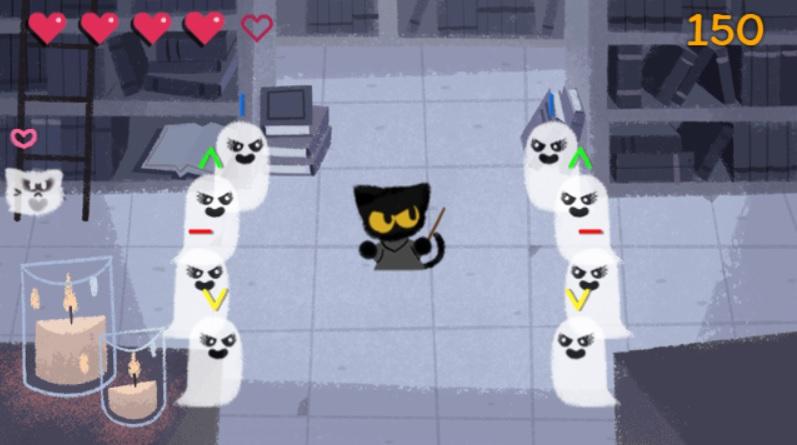 doodle-halloween-game