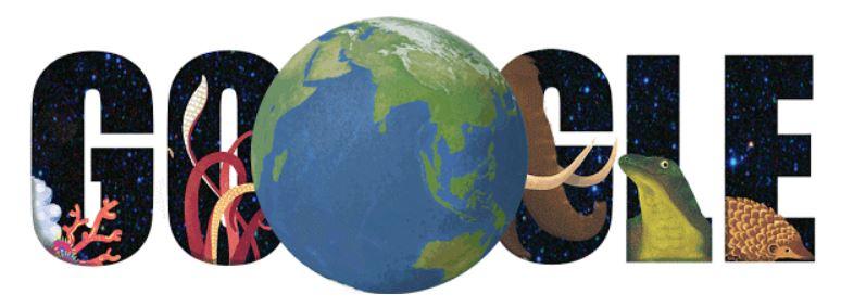 doodle tag der erde 2015