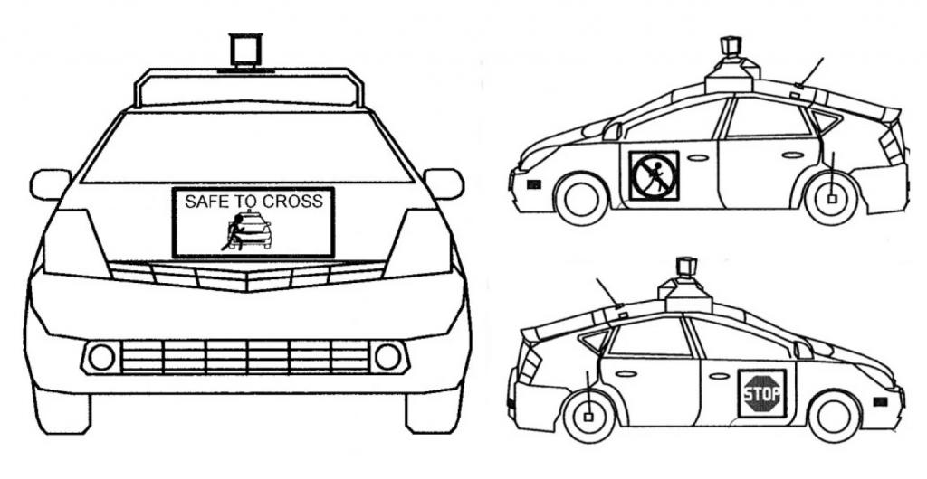driverless car patent